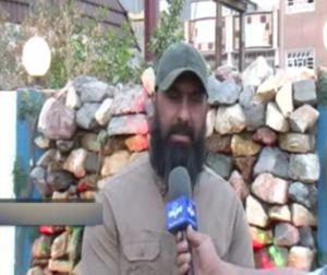 فیلم/ واکنش ابوعزرائیل به خبر شهادتش