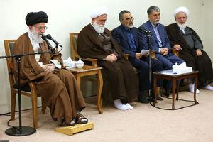 دیدار مسئولان کنگره بزرگداشت آیت الله مصطفی خمینی با رهبر انقلاب