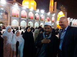 عکس/ سفیر آلمان در بهترین جای ایران