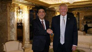 فیلم/ ماجرای تلفن ژاپنی روی میز رئیس جمهور آمریکا