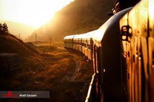 عکس/ مسیر زیبای قطار لرستان
