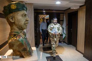 عکس/ نشست خبری رئیس سازمان پدافند غیرعامل