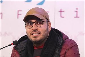 محسن کیایی و کارگردان «رد خون» در پشت صحنه