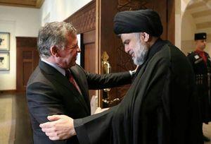 جزئیات دیدار مقتدی صدر و پادشاه اردن