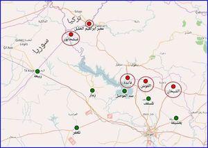 ارتش عراق شمال نینوا را هم از بارزانی میگیرد +نقشه