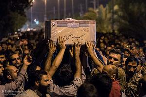 عکس/ تشییع اولین شهید مدافع حرم لامرد