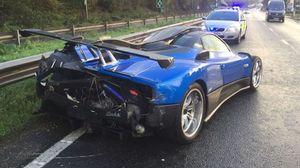 عکس/ تصادف خودروی ۱.۵ میلیون پوندی
