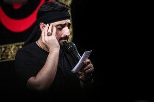 سید مجید بنی فاطمه مداحی حضرت رقیه - حالا که اومدی پیشم بازم آغوشتو وا کن