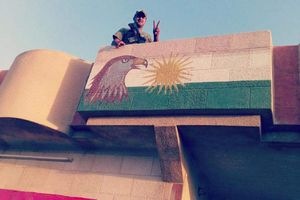 از جمع آوری تصاویر بارزانی در شهر کرکوک تا خنثیسازی توطئهای که به نام نیروهای بسیج مردمی عراق تمام میشد + نقشه میدانی، فیلم و عکس