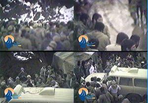 فیلم/ هجوم بسیجیان به «حاج علی فضلی»