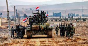 نیروهای نخبه جبهه مقاومت برای انتقام خون شیر صحرای سوریه وارد شهر دیرالزور شدند؛ 5 درصد تا پاکسازی کامل نگین فرات از اشغال داعش +نقشه میدانی و عکس
