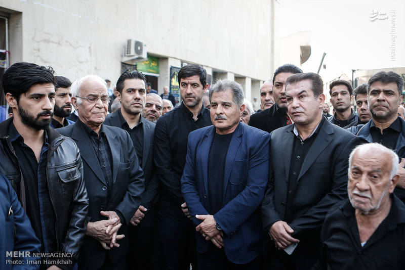 2090798 تشییع جنازه ابراهیم آشتیانی + تصاویر حضو چهره ها در تشییع جنازه ابراهیم آشتیانی