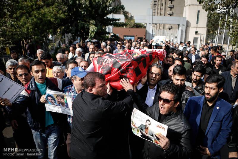 2090812 تشییع جنازه ابراهیم آشتیانی + تصاویر حضو چهره ها در تشییع جنازه ابراهیم آشتیانی