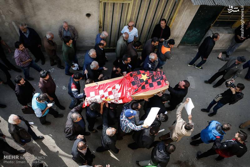 2090813 تشییع جنازه ابراهیم آشتیانی + تصاویر حضو چهره ها در تشییع جنازه ابراهیم آشتیانی