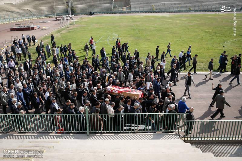 2090816 تشییع جنازه ابراهیم آشتیانی + تصاویر حضو چهره ها در تشییع جنازه ابراهیم آشتیانی