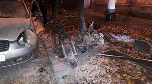 عکس/ وقوع انفجار در پایتخت اوکراین