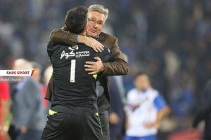 عکس/ خوشحالی برانکو در آغوش بیرانوند