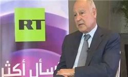 فیلم/ خوشوبش دبیر کل اتحادیه عرب با مقامات سوری