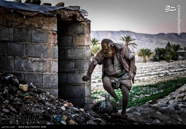 رکورد حمام نرفتن مرد ایرانی به مدت 60 سال