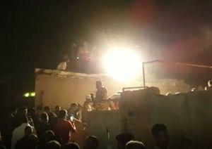فیلم/تخریب ۳ خانه بر اثر انفجار کپسول گاز