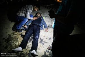 عکس/ انفجار مرگبار گاز در کوی رمضان اهواز