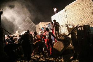 فیلم/ آواربرداری از محل انفجارگاز در اهواز