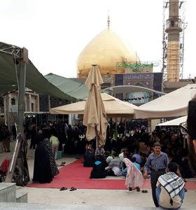 عکس/ حالوهوای سامرا در آستانه اربعین حسینی