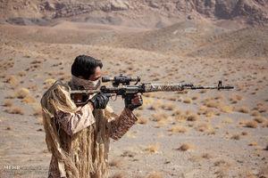 عکس/ رزمایش شهید حججی در خراسان جنوبی