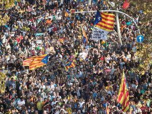 آزادی رییس پارلمان منطقه کاتالونیا به قید وثیقه