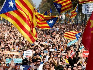 رئیس پارلمان محلی کاتالونیا دادگاهی شد