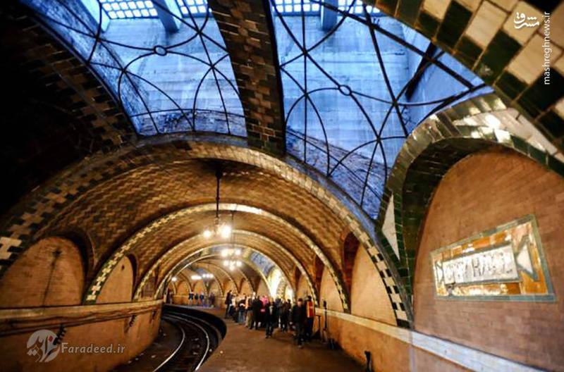 ساخته شده در سال 1904 وزیباترین ایستگاه مترو نیویورک