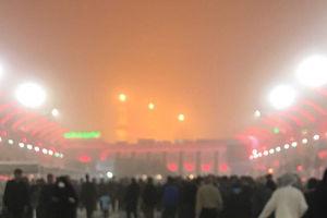 عکس/ گرد و غبار بامداد امروز در کربلا