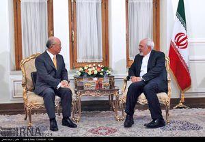 عکس/ دیدار آمانو با ظریف