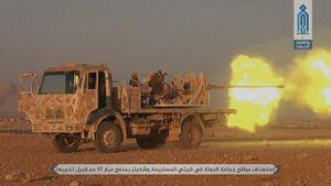 ضربه سنگین داعش به تروریستها در حماه +عکس
