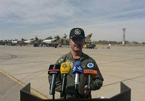 شرکت پهپادهای ارتش در بمباران منطقه رزمایش