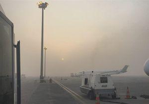 لغو پروازهای فرودگاه اهواز به دلیل مه غلیط
