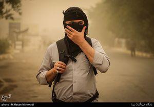 عکس/ هجوم ریزگردها به نجف اشرف