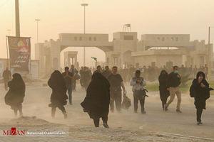 آماده سازی موکب ها و تردد زائران اربعین حسینی در مرز مهران