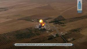 انتحاری القاعده در مقر نیروهای یگان ویژه ارتش سوریه +عکس