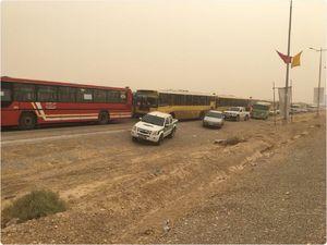 آخرین وضعیت ترافیکی در محورهای مهران، شلمچه و چزابه