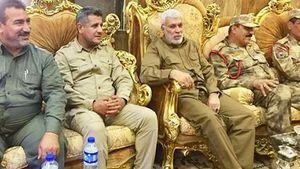 جلسه فرماندهان عراقی برای مرحله جدید عملیات الانبار