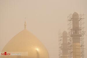 عکس/ گرد و غبار شدید در سامرا