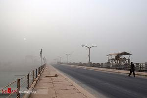 آسمان شهرهای مرزی غبار آلود است