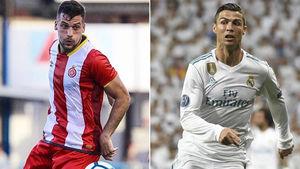 چرا رونالدو پیراهنش را به بازیکن خیرونا نداد؟