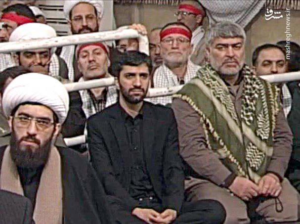 حاج اکبر صباغیان در بیت رهبری