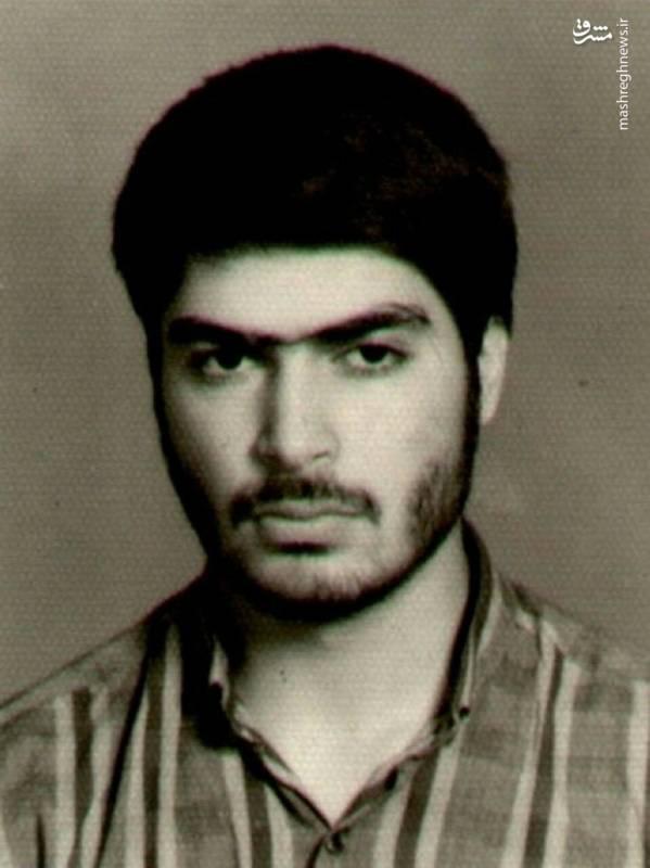 حاج اکبر صباغیان در جوانی