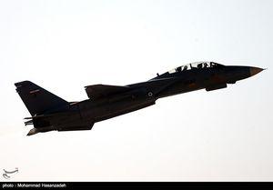 پرواز جنگندههای نیروی هوایی ارتش در رزمایش نهاجا