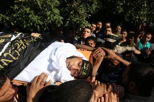 عکس/ تشییع شهدای غزه