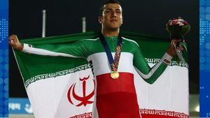 قهرمان دوچرخه سواری آسیا خادم حرم رضوی شد