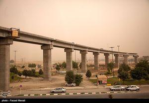 عکس/ کرمانشاه درمحاصره گردوغبار